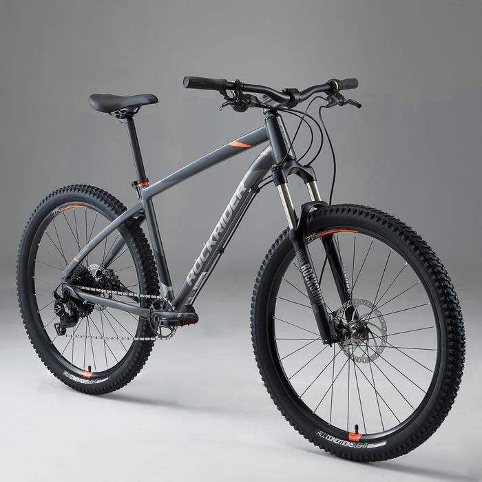 VÉLO VTT ST 900 GRIS ORANGE 27,5""