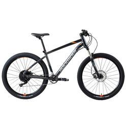 Radsport MTB ST 900 27,5 Zoll grau/orange