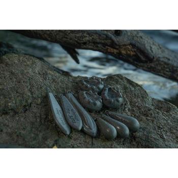 Plombs pêche de la carpe Plombs Trilobe 130g (x2)