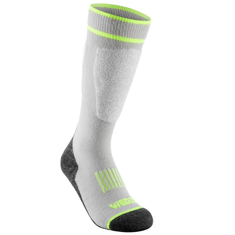 CHILDREN'S SKI SOCKS 100 - GREY