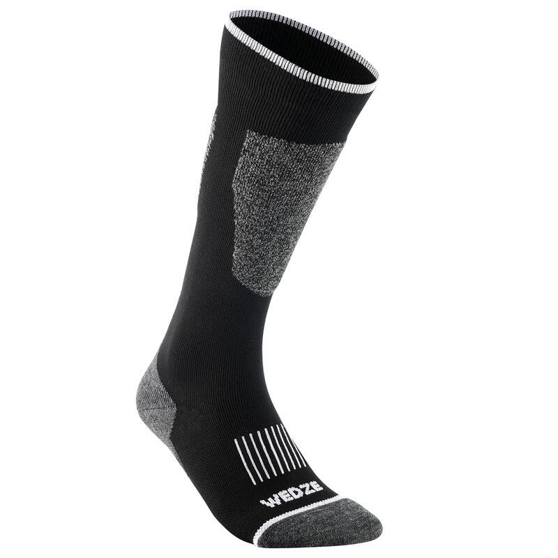 SKI SOCKS 100 NEW BLACK