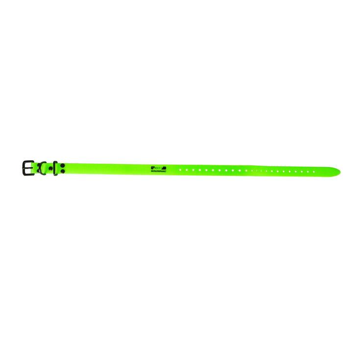 Hundehalsband 300 fluo grün