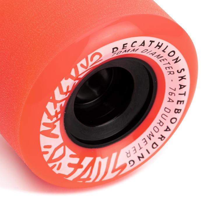 Longboard wielen Slide 70 mm 76A 4 stuks
