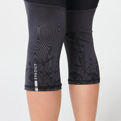 CORSARIO TRAIL RUNNING MUJER NEGRO GRIS FLORES
