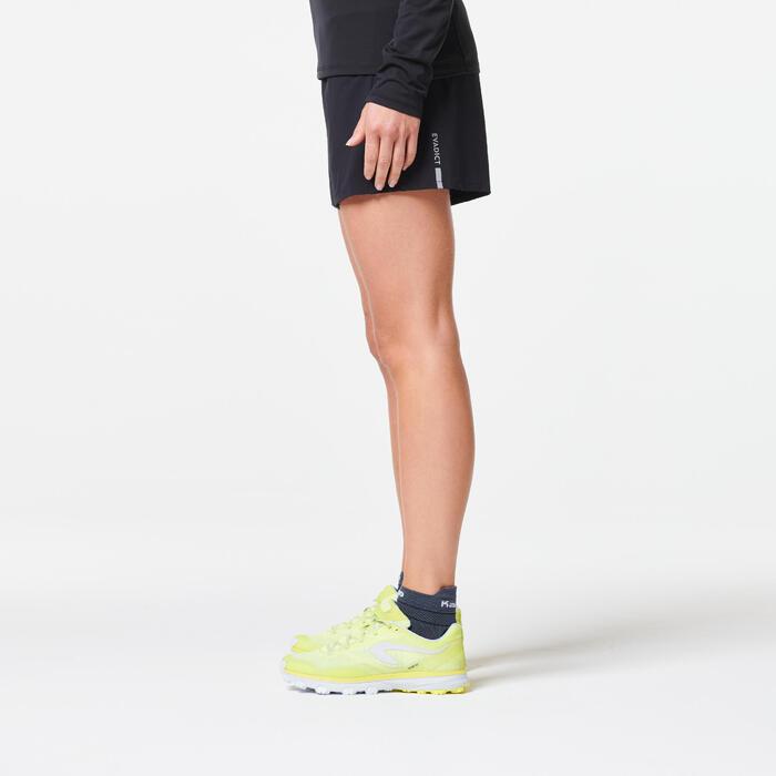 Baggy short trail running femme noir
