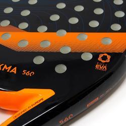 PR 560 Noir Orange Raquette Padel