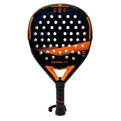Padelracket volwassenen PR 560 zwart/oranje
