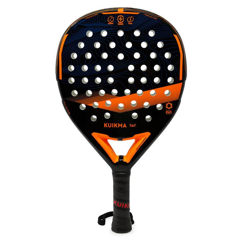 Padelracket PR 560 zwart/oranje