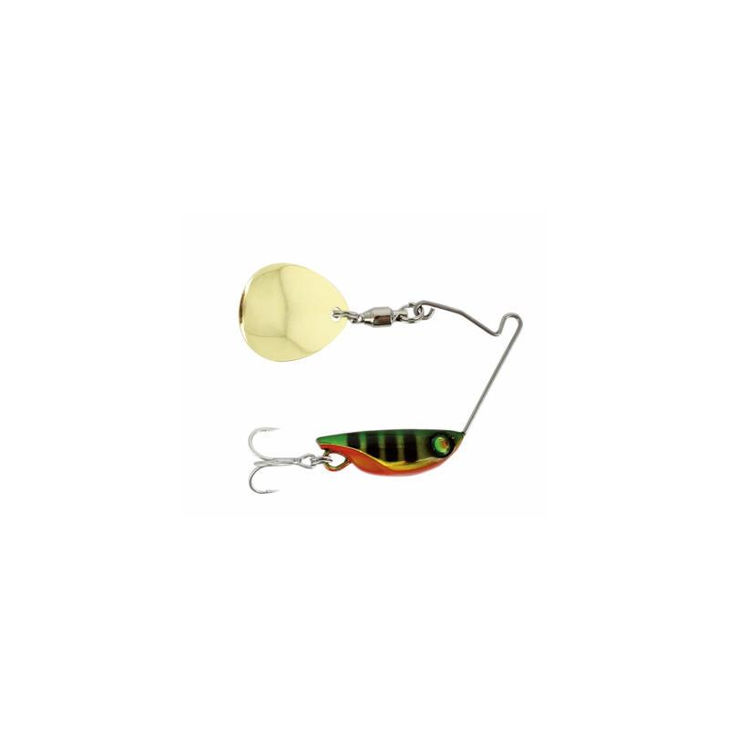 Cuiller pêche aux leurres perche Microspinner Nano'x 6gr perch