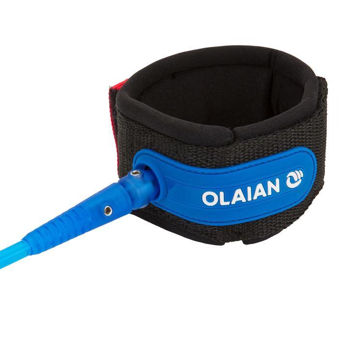 直徑7 mm衝浪板腳繩6'呎(183 cm)-藍色