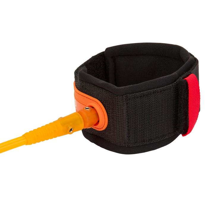 Leash surf 7' (210 cm ) diamètre 7 mm orange.