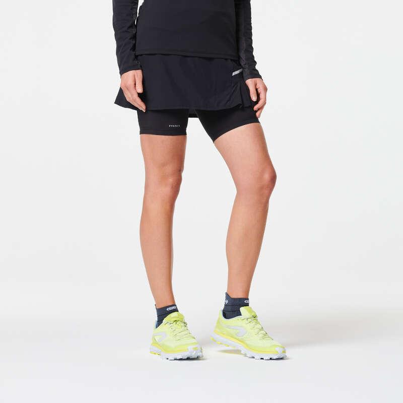 KADIN ARAZİ KOŞUSU GİYİM Koşu - TRAIL TAYTLI ETEK EVADICT - Kadın Koşu Kıyafetleri