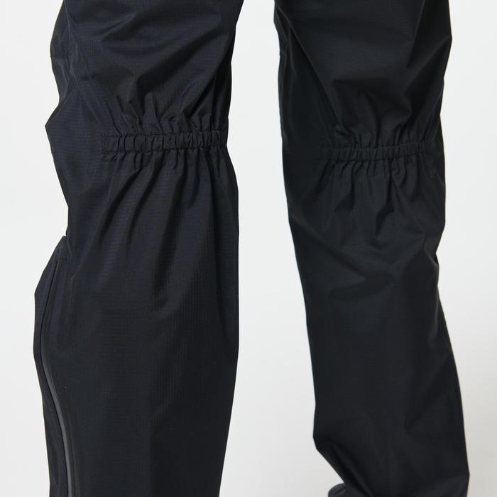 Regenbroek voor trail dames zwart