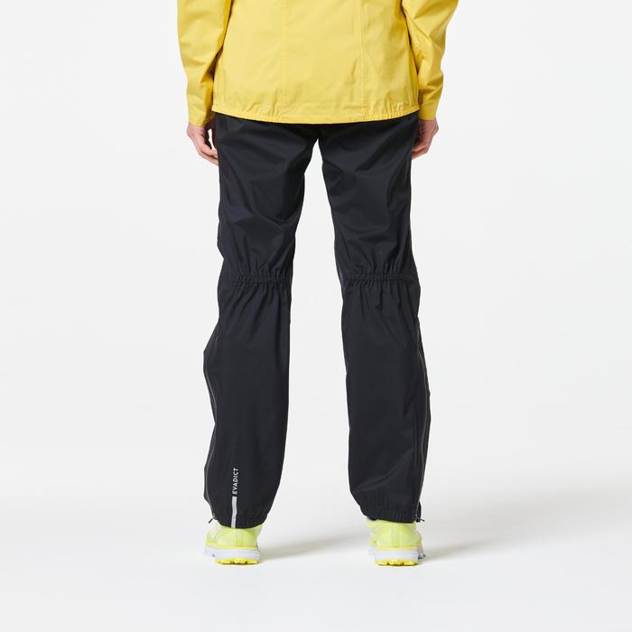 Women's Running Trail Waterproof Pants - Black