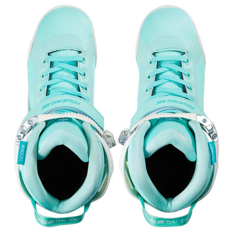 Adult Women's 3x90mm Powerslide Inline Skates Phuzion Radon - White/Light Green