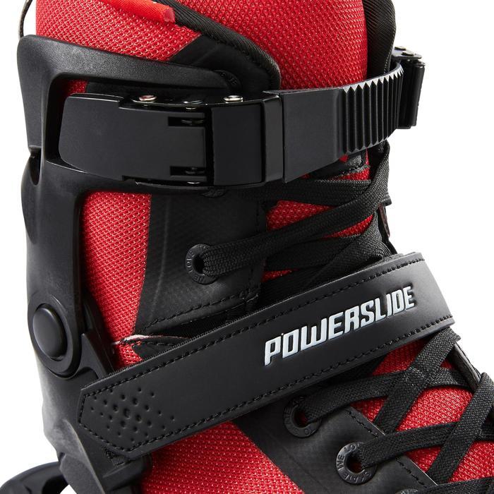 Inline skates heren Powerslide PHUZION RADON 3x90mm zwart rood