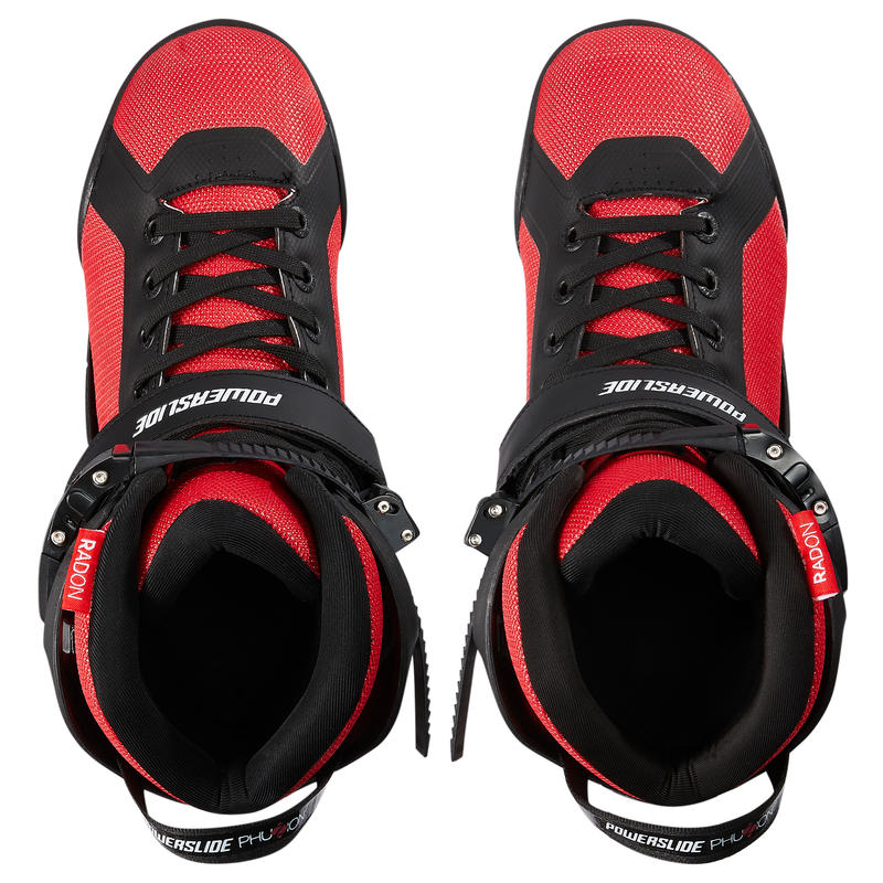 Adult Men's 3x90mm Powerslide Inline Skates - Black/Red