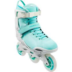 Inline skates dames Powerslide PHUZION RADON 3x90mm wit lichtgroen