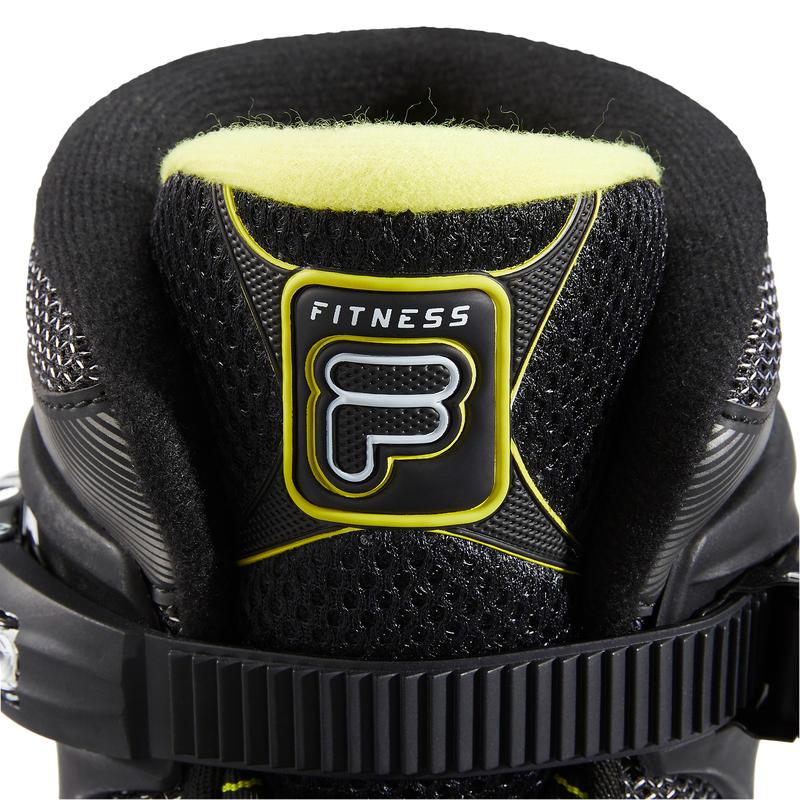 Men's 84mm Fitness Skates Fila Primo Air Zone - Black/Lime