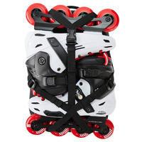 Mochila para patines Oxelo BP100 Negro 20 litros