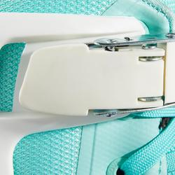 Patins em Linha Adulto Mulher Powerslide PHUZION RADON 3x90mm Branco Verde-claro