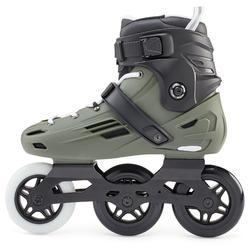 Roller freeskate Hardboot adulte MF900 Kaki