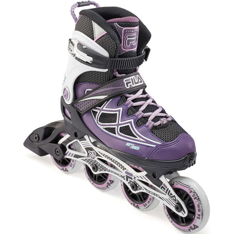 ADULT INLINE SKATE Inline Skating and Roller Blading - 84 Fila Primo Air Zone Purple FILA - Inline Skating and Roller Blading