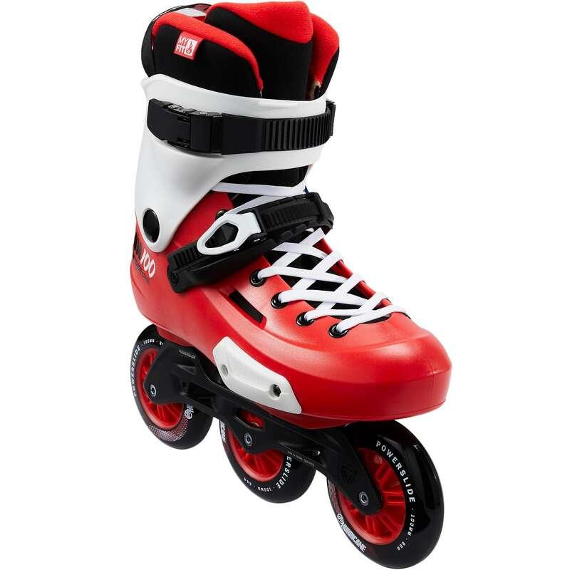 INLINES VUXEN Inlines, Skateboard - Roller ZOOM TRINITY 3 x 100 mm POWERSLIDE - SPORTER