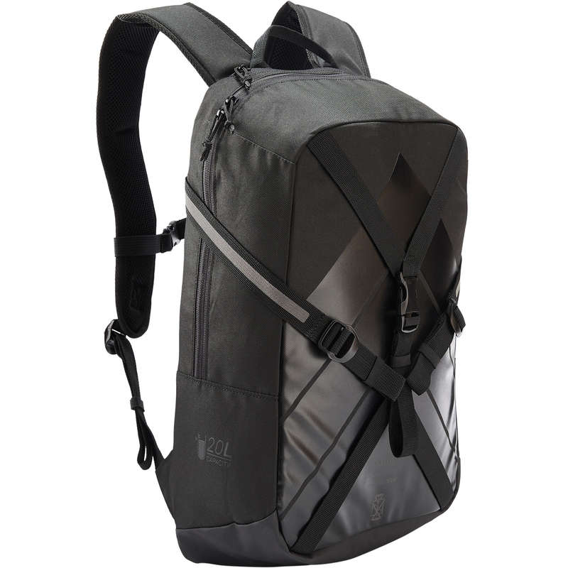 BAGS AND ACCESORIES Bags - Backpack BP100 - Black OXELO - Bags