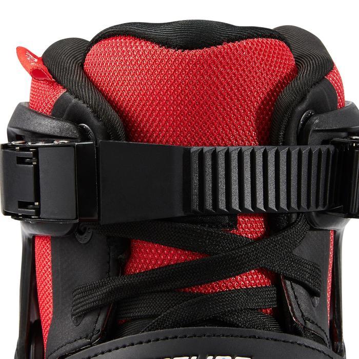Roller en Ligne Adulte Homme Powerslide PHUZION RADON 3x90mm noir rouge
