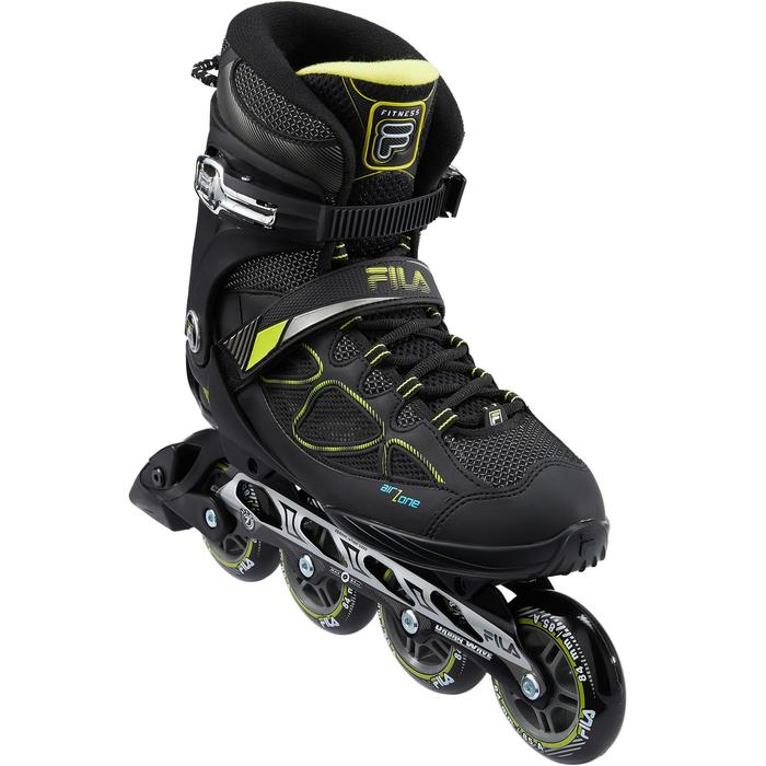 Fitnessskeelers FILA PRIMO AIR ZONE 84mm MAN Black Lime
