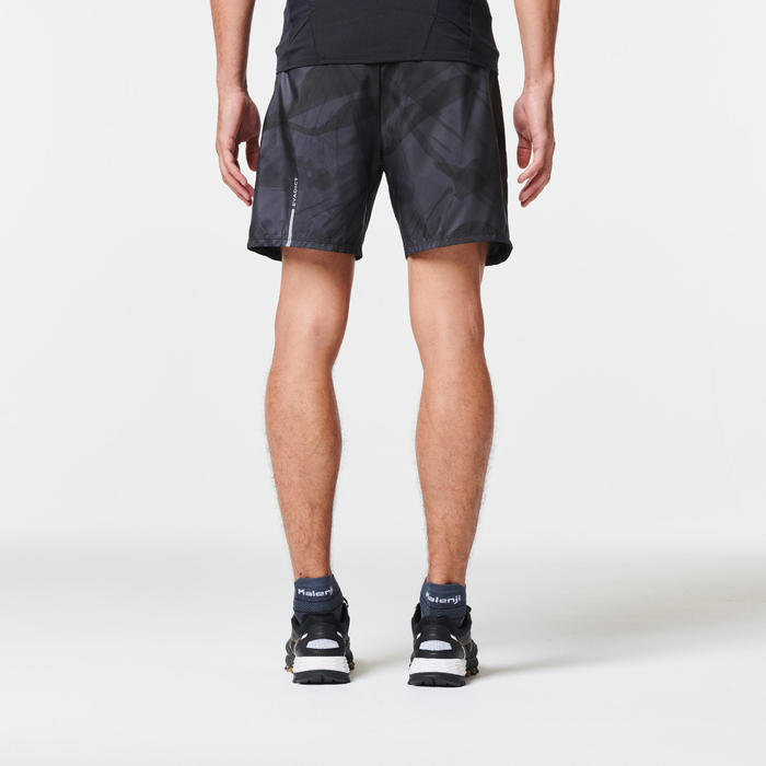 BAGGY SHORT TRAIL RUNNING HOMME GRIS GRAPH