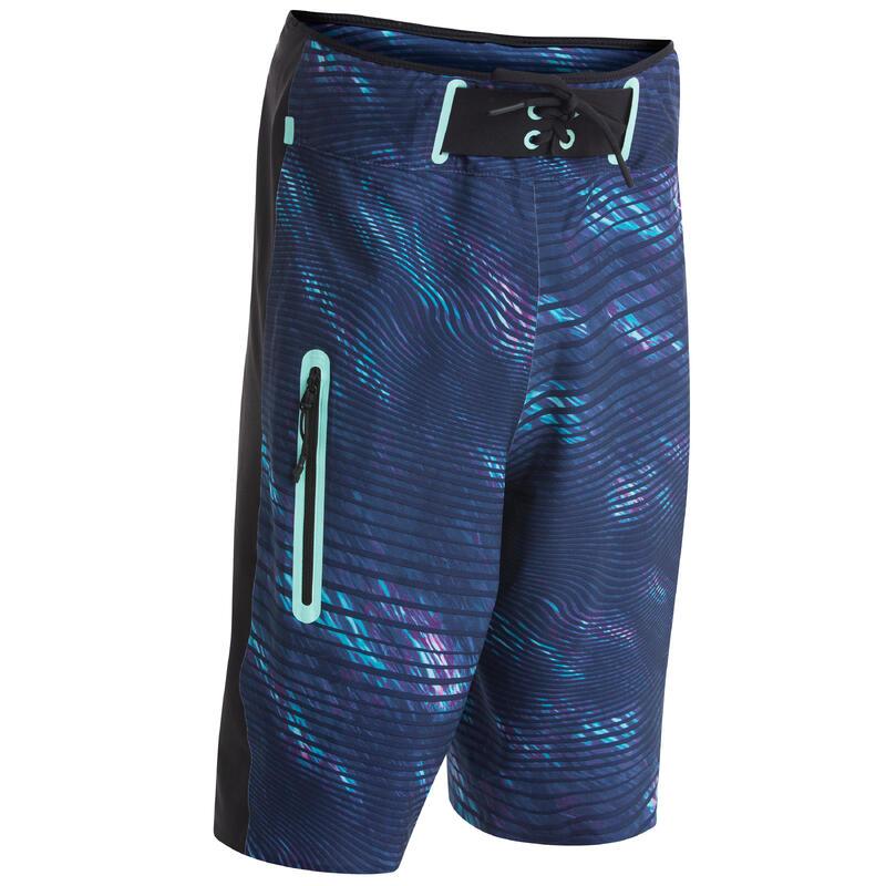 Swim shorts/boardshort 900 - blue