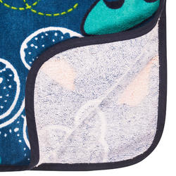 兒童款衝浪毛巾衣(110到135 cm)-天空款