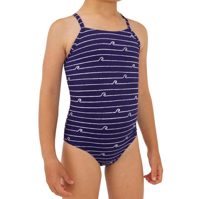Lány fürdőruha Strand, szörf, sárkány - Fürdőruha alsó Hanalei 100 OLAIAN - Bikini, boardshort, papucs