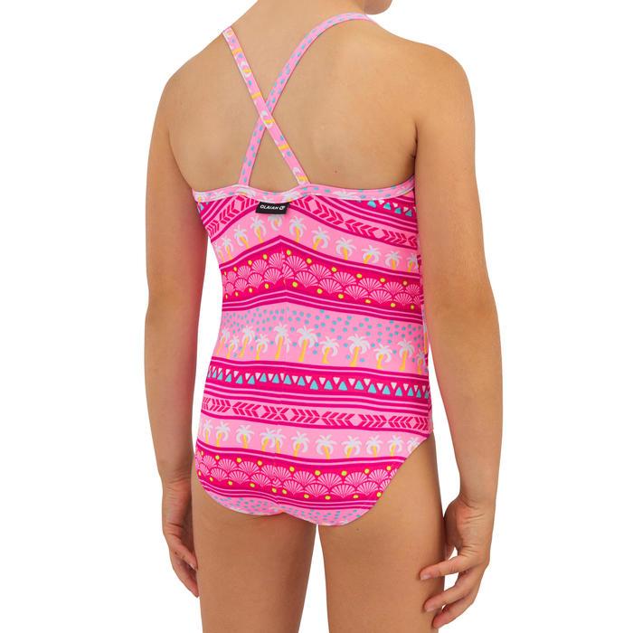 Surfbadpak voor meisjes Hanalei 100 roze