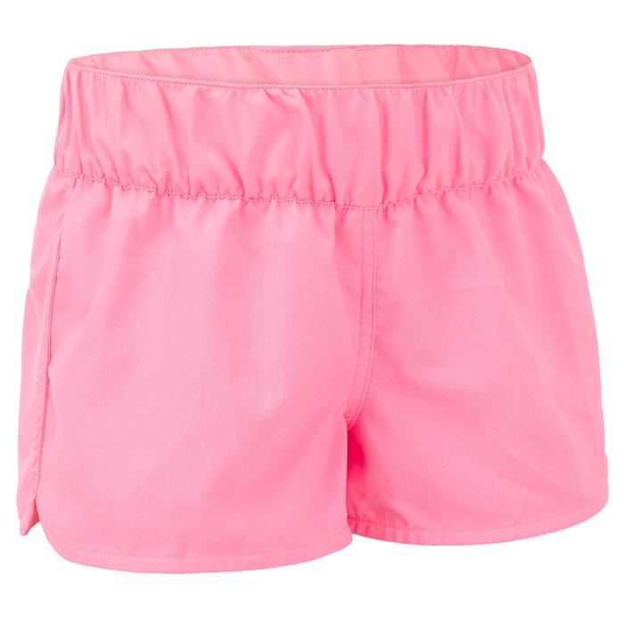 Surfshort voor meisjes Kina 100 roze