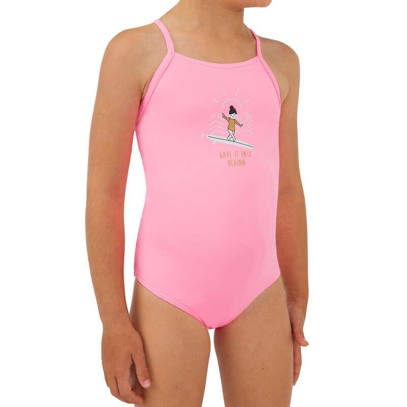 Lány fürdőruha Strand, szörf, sárkány - Lány fürdőruha Hanalei 100 OLAIAN - Bikini, boardshort, papucs