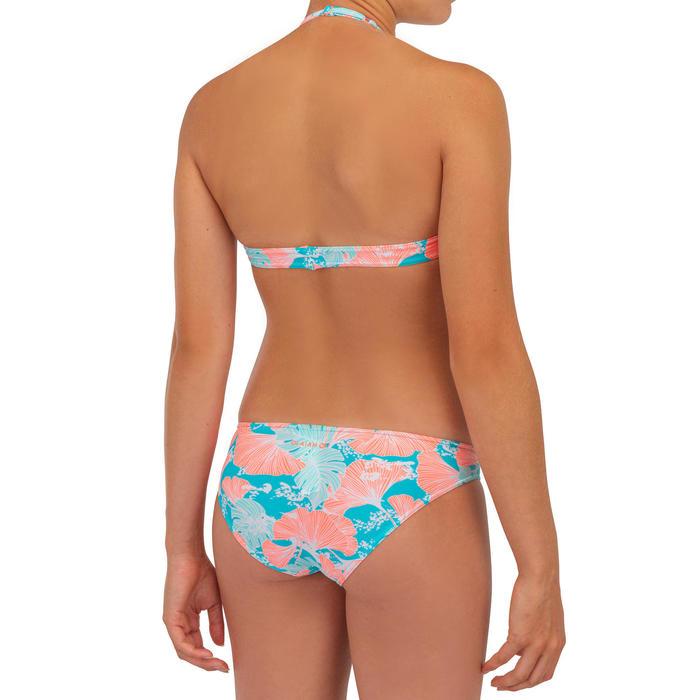 Bikini voor meisjes haltertop Tami 100 turkoois
