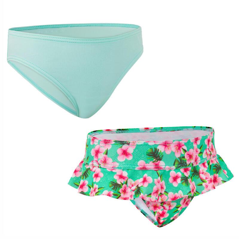 LITTLE GIRL'S Swimsuit bottoms MADI 100 - MINT
