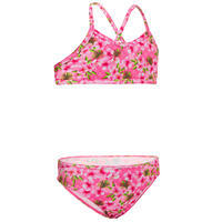 SURF GIRL'S SWIMSUIT TOP AND PANTY BONI 100 BRA PINK