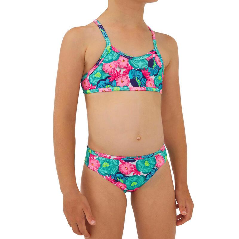 Two-piece swimsuit BONI 100 - TURQUOISE