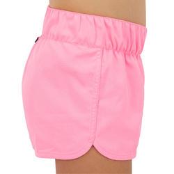 Boardshorts Surfen Kina 100 LG Mädchen rosa
