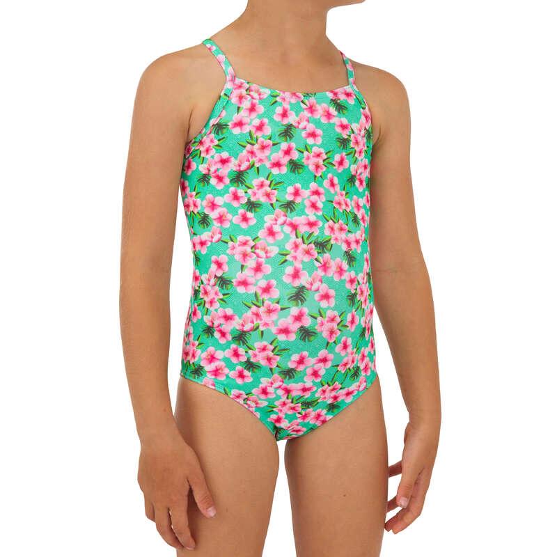 COSTUM DE BAIE FATĂ Surf, Bodyboard, Wakeboard - Costum Întreg HANALEI 100 OLAIAN - Costume de baie, Protectii Solare, Papuci