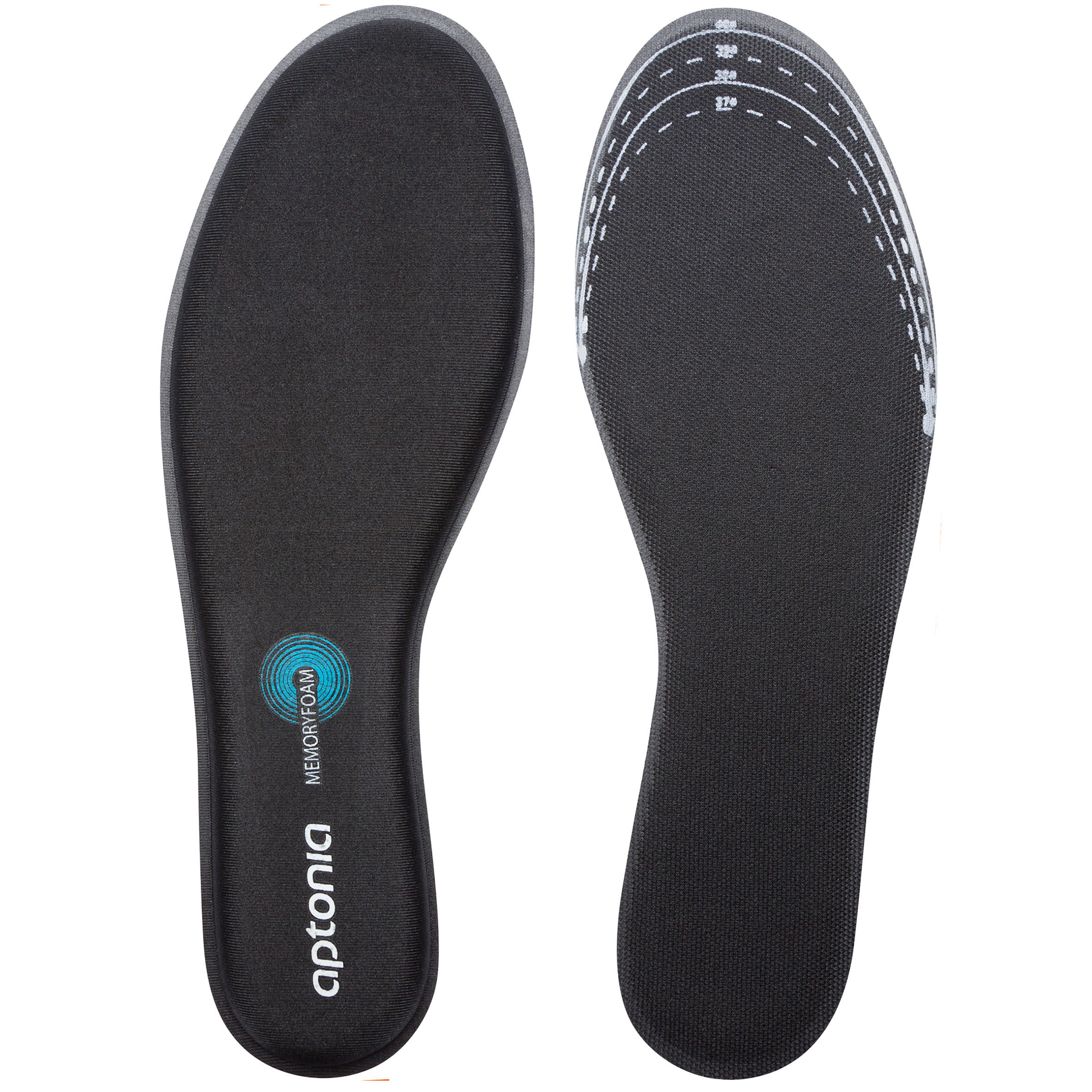 Walk Memory Foam Insoles - Black