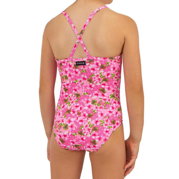 maillot de bain 1 pièce ROSE FLUO HANALEI 100