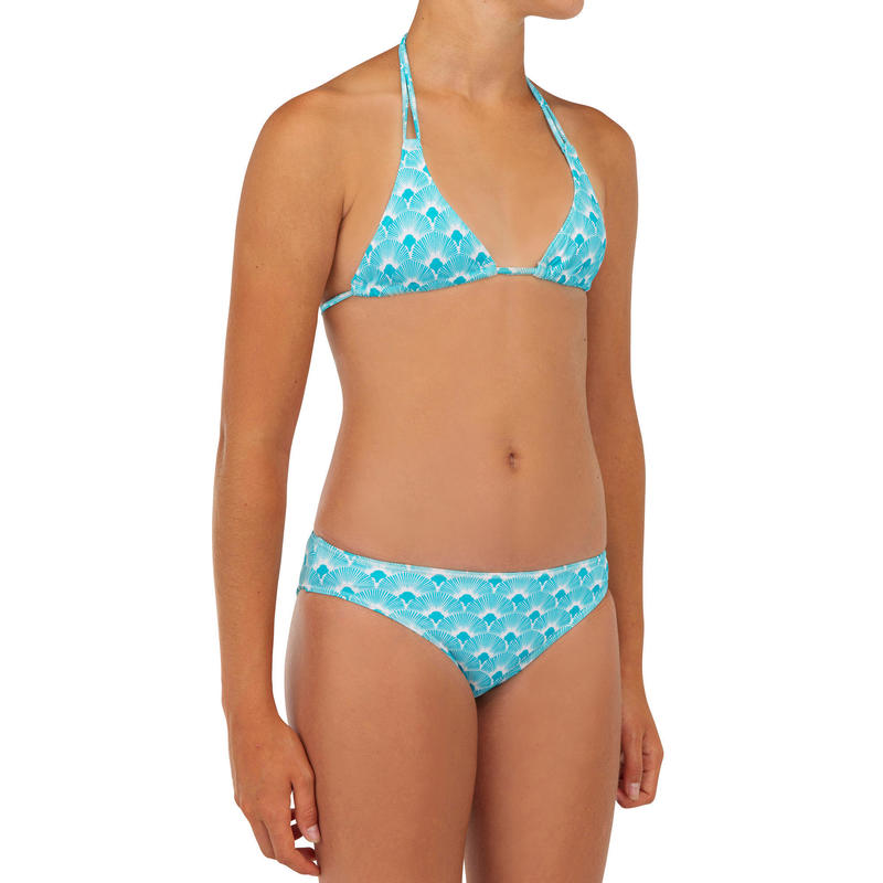Two-piece swimsuit TALOO 100 - TURQUOISE