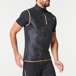 Veste sans manche trail running homme gris noir