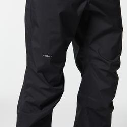 Pantalon pluie imperméable trail running homme noir