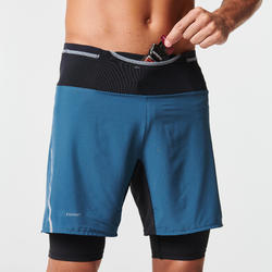 Short cuissard confort trail running homme gris